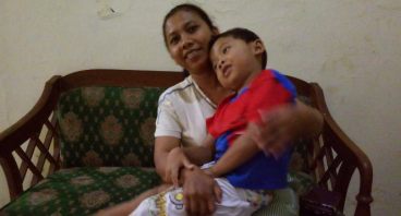 Bantu Janda Soliah biayai hidup uwa, ibu, dan anak