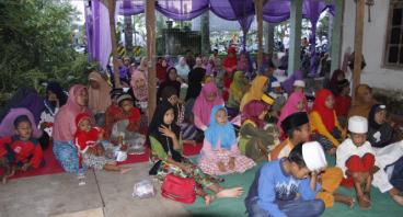 Santunan Anak Yatim YPPSQG Tahun VII Ramadhan 2017