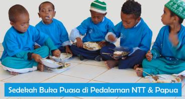 Buka Puasa untuk Muslim Pedalaman NTT & Papua