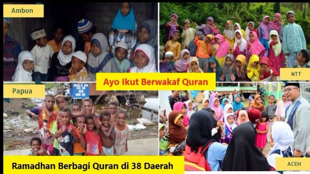 Ramadhan Berbagi 10.000 Alquran di 38 Daerah