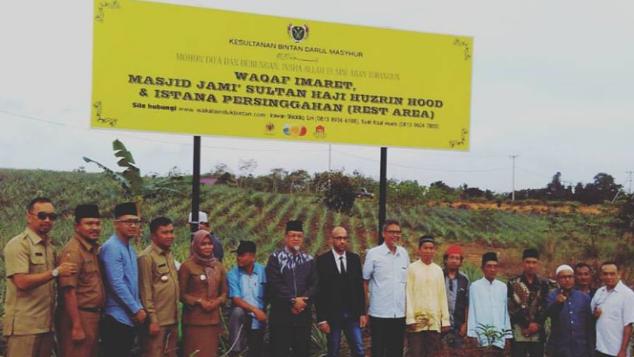 Perluasan Lahan Masjid & Imaret Kesultanan Bintan