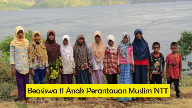 BEASISWA 11 ANAK PERANTAUAN MUSLIM NTT