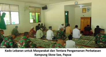 Hadiah Lebaran: Kampung Skow Sae, Papua