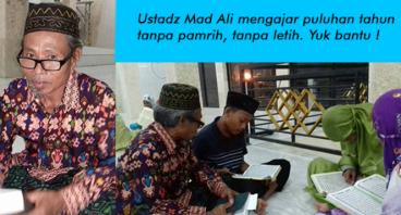 Program Dai Keliling, Beri Semangat Ustdaz Mad Ali