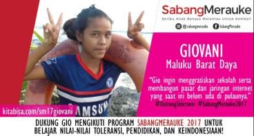 #DukungToleransi SabangMerauke 2017 - Giovani