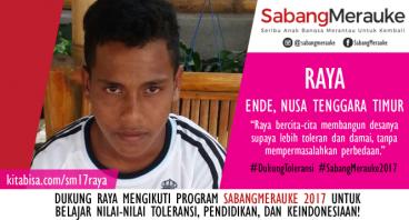 #DukungToleransi SabangMerauke 2017 - Raya
