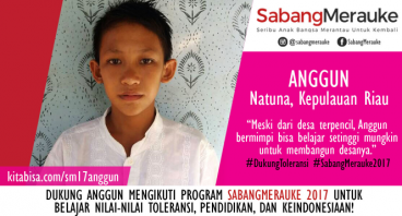 #DukungToleransi SabangMerauke 2017 - Anggun