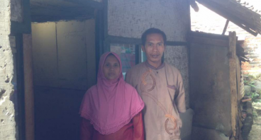 Rumah Layak Untuk Keluarga Pa Tata dan 6 anaknya