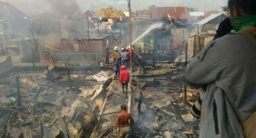 Bantu Korban Kebakaran Palembang