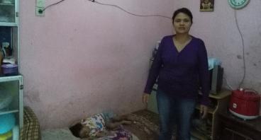Bantu Ibu Aminah Membeli Mesin Obras