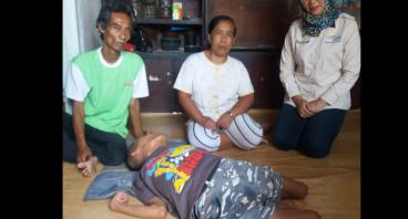 Bantu Abdul Beli Alat Bor Dan Bantu Hidup Saipudin