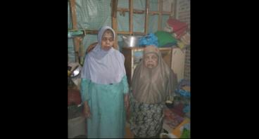 Bantu Kakak Beradik Penjual Surabi yg Sudah Lansia