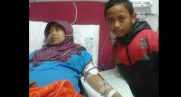 Bantu Ibu Yuyun Untuk Melakukan Cuci Darah Rutin