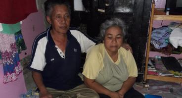 Bantuan Terapi Stroke untuk Istri Buruh Bangunan