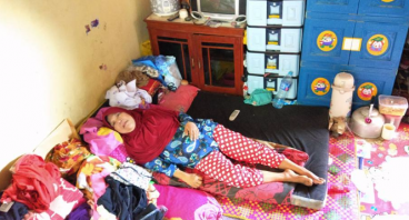 Bantu Ibu Wawang sembuh untuk biayai anaknya sekol