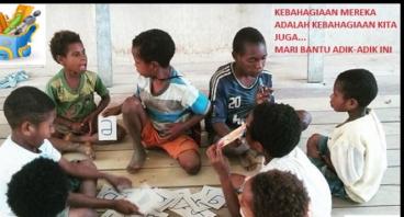 1000set Alat Tulis tuk Adik-Adik Papua #BraniMimpi