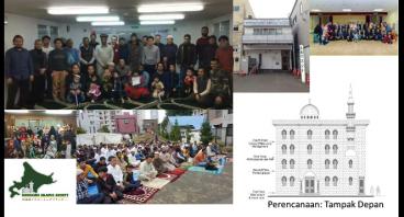 Rekonstruksi Masjid Sapporo