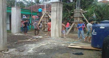 Bantu Pembangunan Asrama Pondok Pesantren