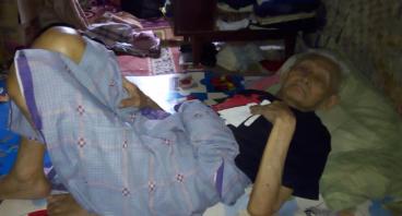 Kakek Lumpuh Butuh Bantuan Modal untuk Istrinya