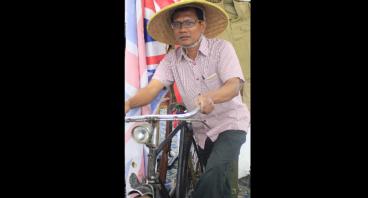 #BERANIMIMPI Gowes ke Kantor untuk Papua