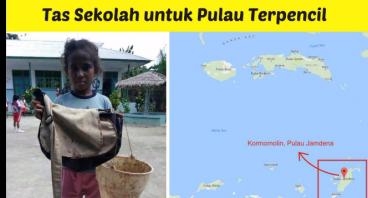Tas Sekolah untuk Pulau Terpencil