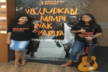 #BERANIMIMPI wujudkan Honai Belajar Anak Papua