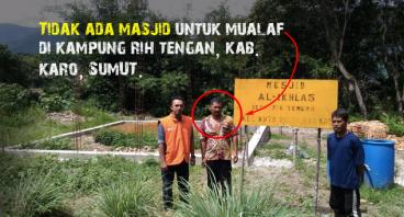 Pembangunan MASJID yang TERBENGKALAI di KARO Sumut
