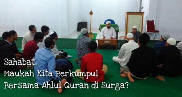 Yuk Bangun Perpustakaan Masyarakat dan Bank Quran