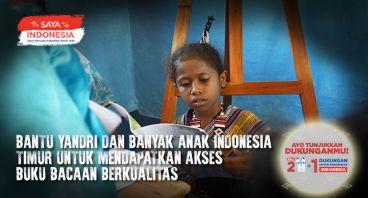 Bantu Yandri Dapatkan Akses Buku Berkualitas
