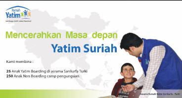 Bantu Yatim Suriah Penghafal Al - Qur'an