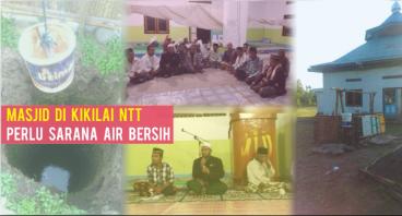 Masjid di Kikilai Perlu Sarana Air Bersih