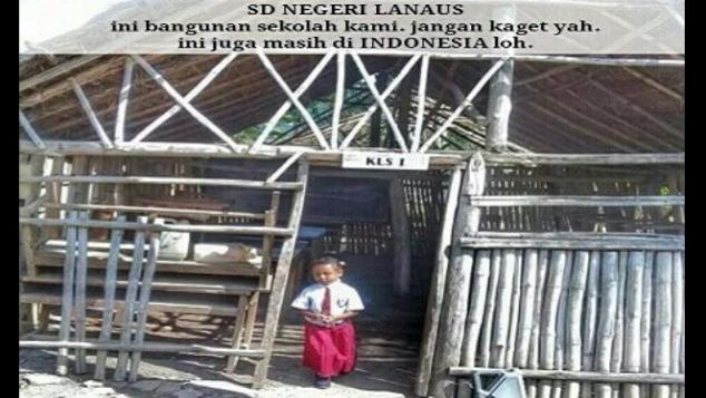 """""""TERBAKAR"""" Darurat SDN Lanaus Timor Tengah,NTT"""