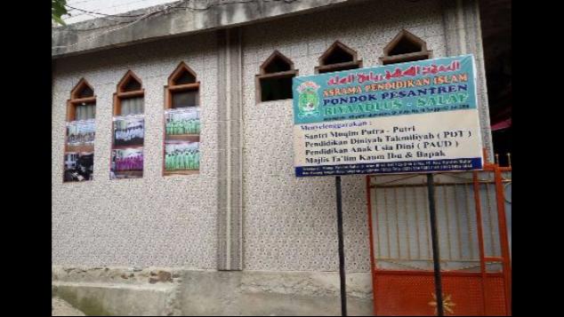 Bantu Pembangunan Pondok Pesantren Riyaadlus-Salaf