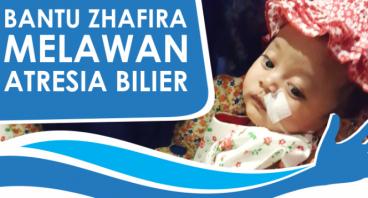 Bantu Zhafira Untuk Operasi Transplantasi Hati