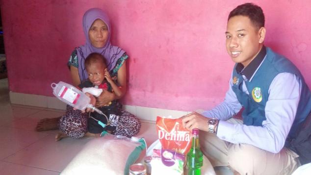 Bantu Angga,Balita Penyintas HIV  Dari Kaum Dhuafa