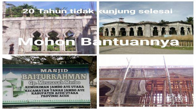 Untuk Pembangunan Mesjid Baiturrahman