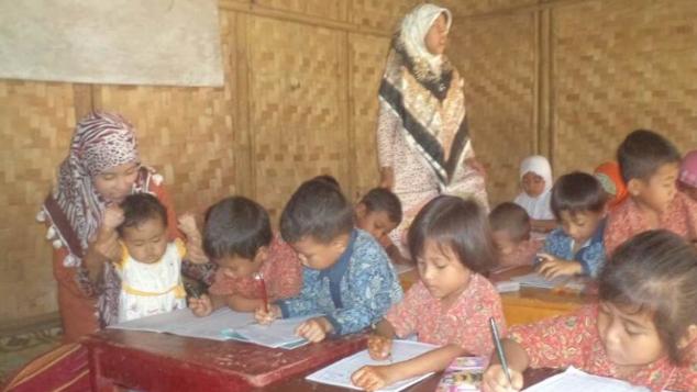 Bantu Renovasi Paud Pena di Kabupaten Tangerang