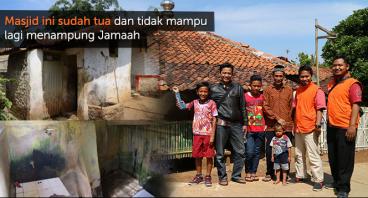 Renovasi Masjid Assadiyah di kampung terpencil