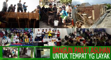 Renovasi Asrama Panti Asuhan Bina Umat Bandung