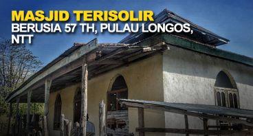 Renovasi Masjid Berusia 57 Tahun di Pulau Longos