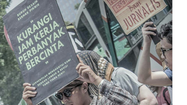Dukung Pekerja Kreatif Berserikat di Sindikasi