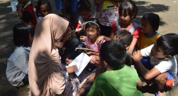 Taman Baca Masyarakat untuk Desa Cerme VI