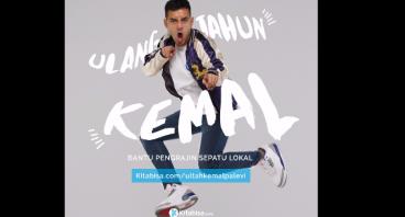 Ultah Kemal Palevi Bantu Pengrajin Sepatu Lokal
