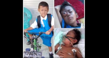 Bantu biaya operasi&pengobatan; adik Ilham Saputra