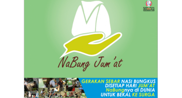 NaBung Jum'at (Gerakan Sebar Nasi Bungkus Jum'at)
