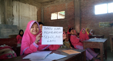 Bantu Pembangunan Sekolah Kami yang Terhenti