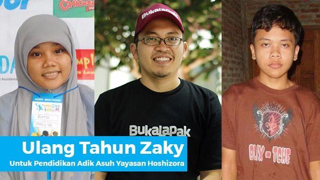 Ulang Tahun Zaky untuk Adik-Adik Binaan Hoshizora