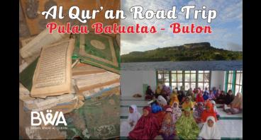 Wakaf Al Qur'an untuk Warga Pulau Batuatas - Buton