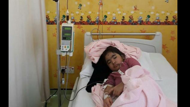 Transplantasi Sumsum buat Lin lin/Cathelen, 5 thn