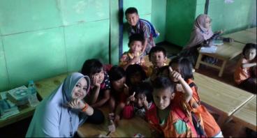 Bangun Sanggar Belajar di Kampung Sumur